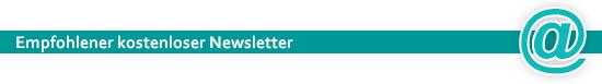 Empfohlene kostenlose Newsletter