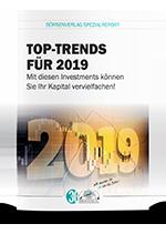 """Spezialreport """"Die große Trendprognose 2019"""""""
