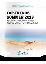 """Spezialreport """"Top-Trends Sommer 2019"""""""
